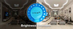 Milight fényerőszabályozó szett, dimmer touch távirányító+vezérlő (FUT021) fényerőszabáílyozás